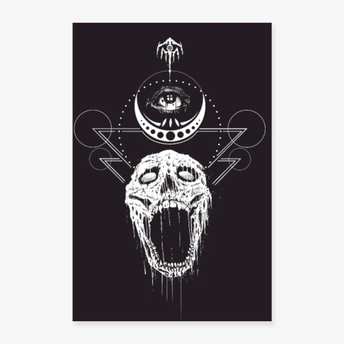 poster nocturn 2 - Poster 60 x 90 cm
