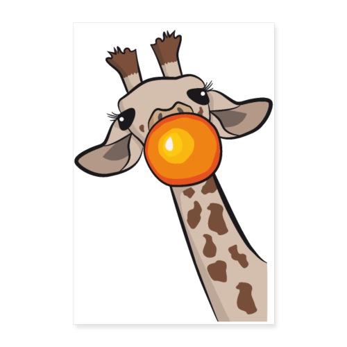 Giraffe - Poster 60x90 cm