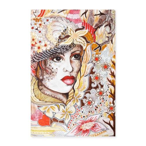 Tant Brun Poster - Poster 60x90 cm
