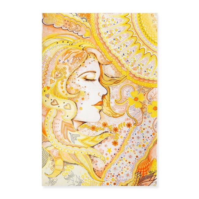 Fröken Sol Poster