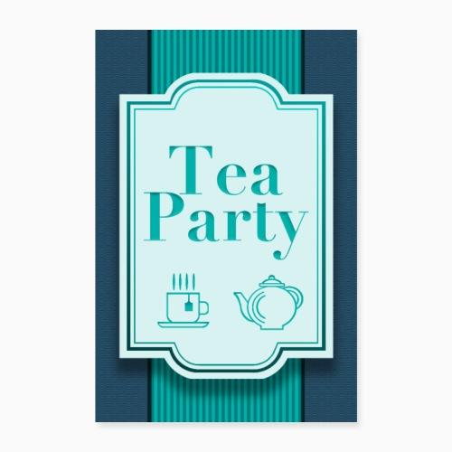 Tea Party - Poster 24 x 35 (60x90 cm)