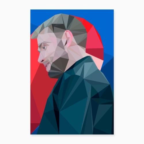 Wolfgang Half Heart - Poster 24 x 35 (60x90 cm)