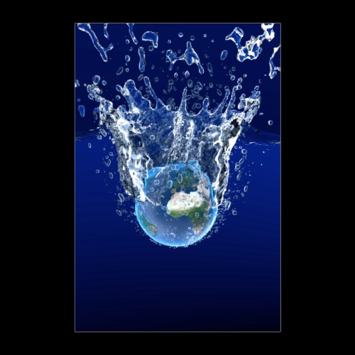 Global Warming Blue Edition - Poster 60x90 cm