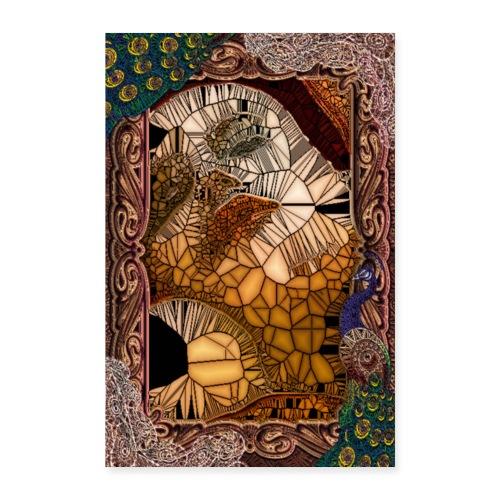 ephemeral vitrail new - Poster 60 x 90 cm