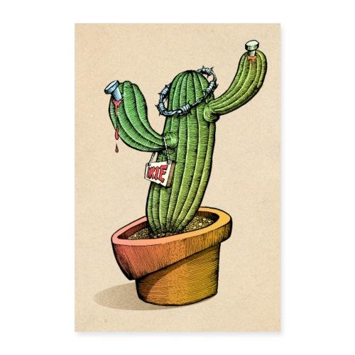Kaktus - Poster 60x90 cm