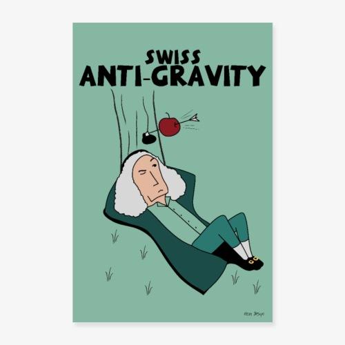 Swiss Anti-Gravity - Poster 60x90 cm
