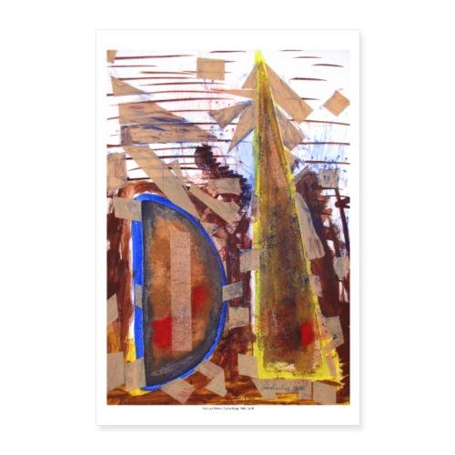Abstrakt 1 - Poster 60x90 cm