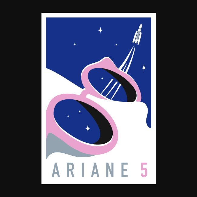Ariane 5 by Quentin Monge