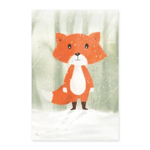 Der Fuchs - Poster 60x90 cm