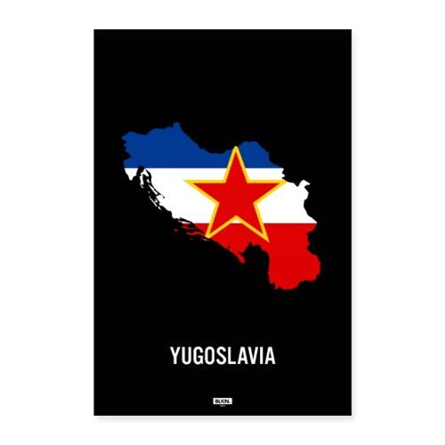 BLKN. x MAP (Yugoslavia) - Poster 24 x 35 (60x90 cm)