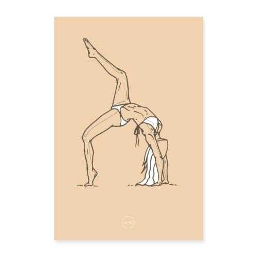 Yoga - Poster 60 x 90 cm