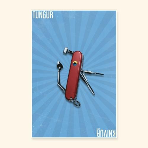 Tungur Knivur GBAD Poster - Poster 60x90 cm