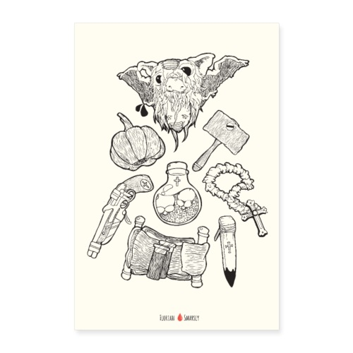 Bloody Sundays - Poster 60x90 cm