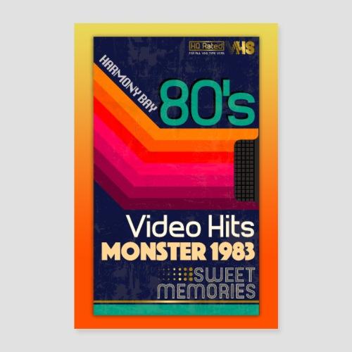 VHS Kassette - Poster 60x90 cm