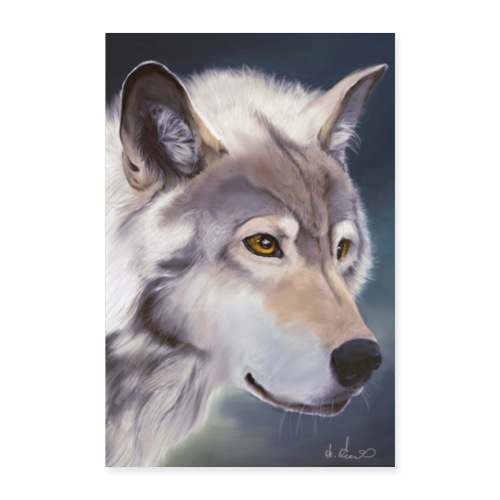 Wolf by Night - Poster 60x90 cm