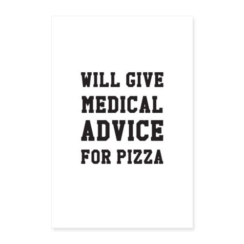 Pizza - Poster 60x90 cm