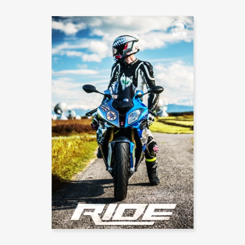 RIDE POSTER - Poster 60x90 cm