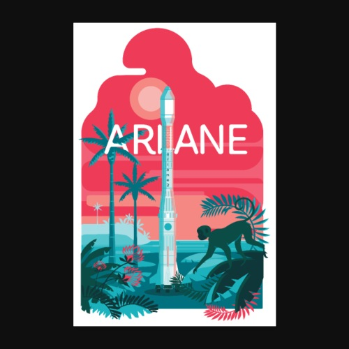 Ariane 2 - Mysterious jungle - Poster 24 x 35 (60x90 cm)