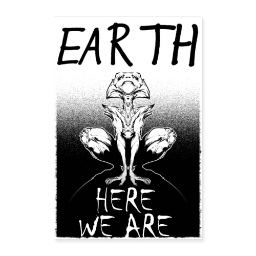 Alien Seul - Poster 60 x 90 cm