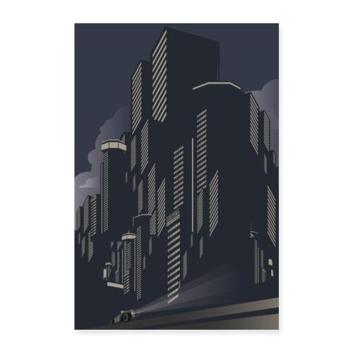 Art Déco | Ville active - Poster 60 x 90 cm