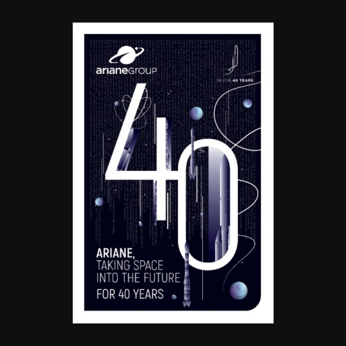 40 years Ariane by Mathilde Magnon - Poster 24 x 35 (60x90 cm)