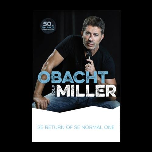 OBACHT MILLER - Das Poster - Poster 60x90 cm