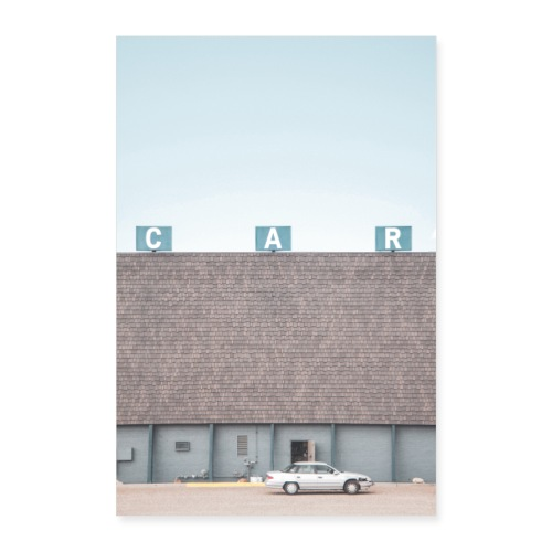 C A R Poster - Poster 60x90 cm