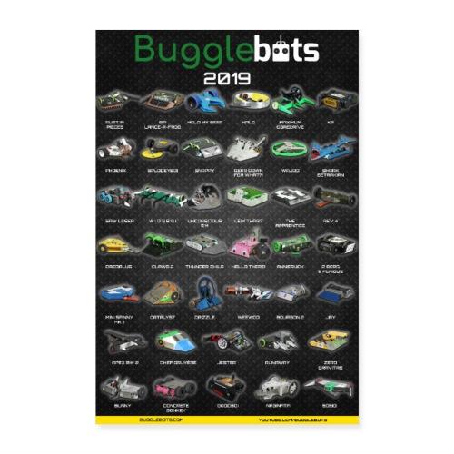 Bugglebots 2019 Poster - Poster 24 x 35 (60x90 cm)