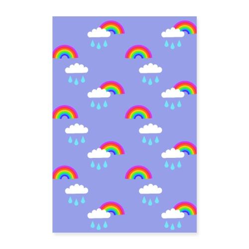 Sadepäivän ilo - Juliste 60x90 cm