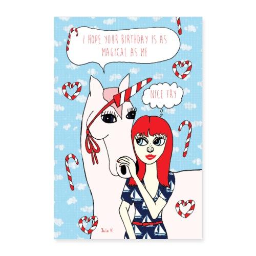 Jule K.- Magical Birthday - Poster 60x90 cm