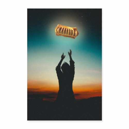 FrikandelBroodje Poster - Poster 60x90 cm