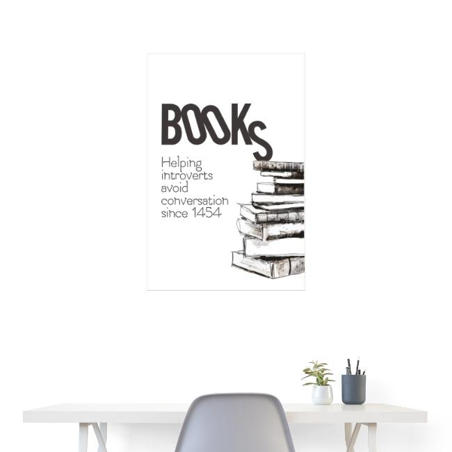 poster helping introverts
