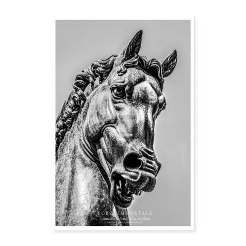 Ippolandia Pferd des Leonardo Da Vinci - Poster 60x90 cm