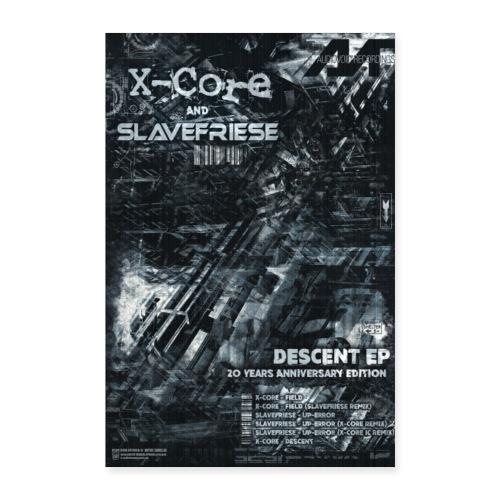 X-Core Slavefriese Descent Ep Poster - Poster 24 x 35 (60x90 cm)
