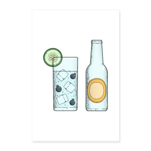 Gin & Tonic - Poster 60x90 cm