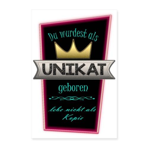 Unikat Poster - Poster 60x90 cm