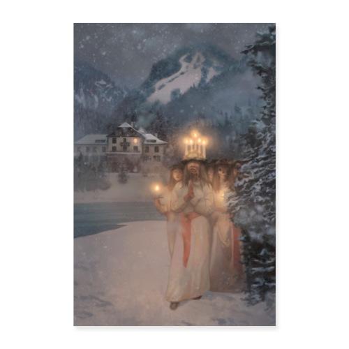 Marheim Fjellhotell poster - Poster 60x90 cm