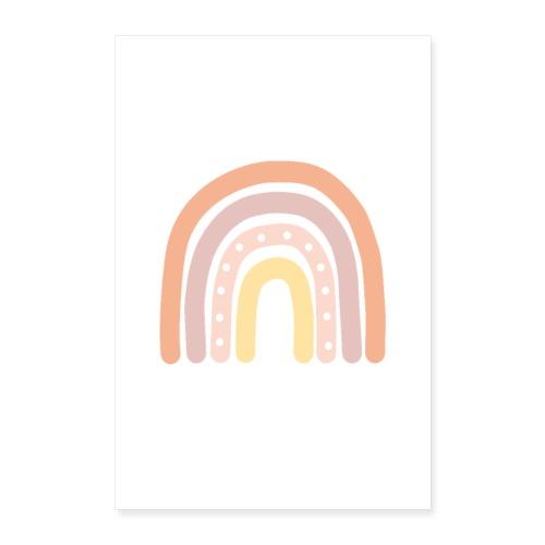 Regenbogen Poster Kinderzimmer - Poster 60x90 cm