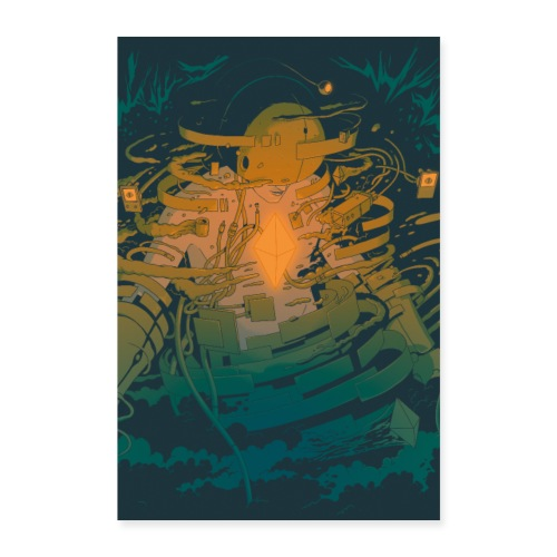 Boodaman Poster 2x3 - Poster 24 x 35 (60x90 cm)