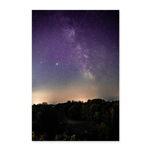 Nachthimmel - Poster 60x90 cm
