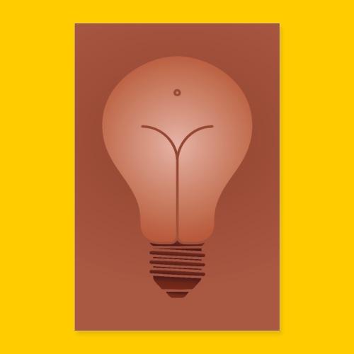 Bulb - Poster 60x90 cm