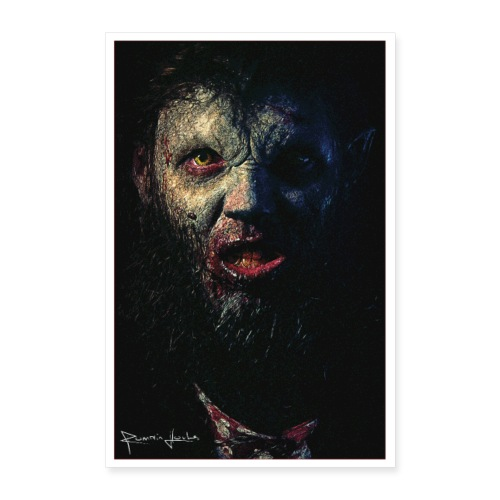 Werewolf Poster - Poster 60 x 90 cm