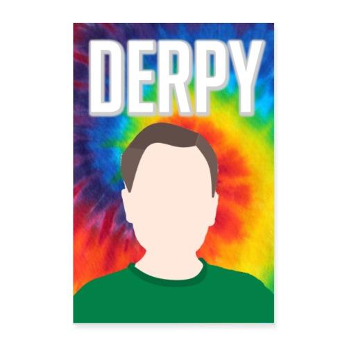 DerpyXbox Poster - Poster 24 x 35 (60x90 cm)