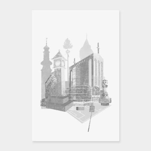 Bornheimskyline - Poster 60x90 cm