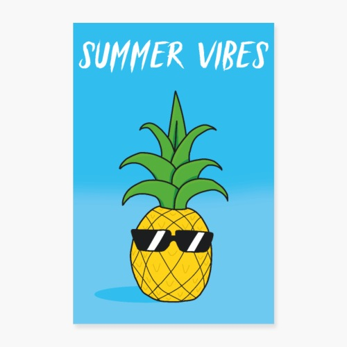 Summer Vibes - Poster 60x90 cm