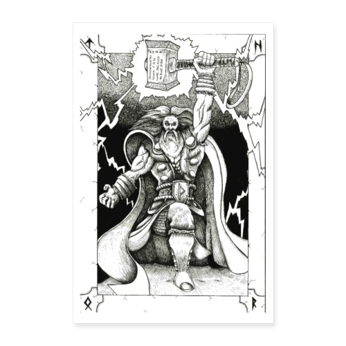 Thor Odinson - Poster 60 x 90 cm