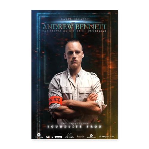 Affiche AndrewBennett David Delayat - Poster 60 x 90 cm