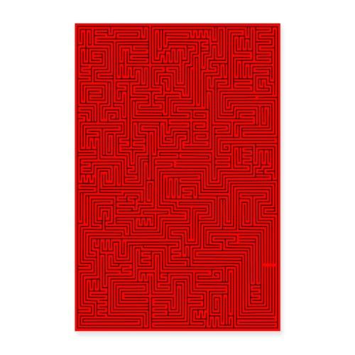 labyrint - Poster 60x90 cm