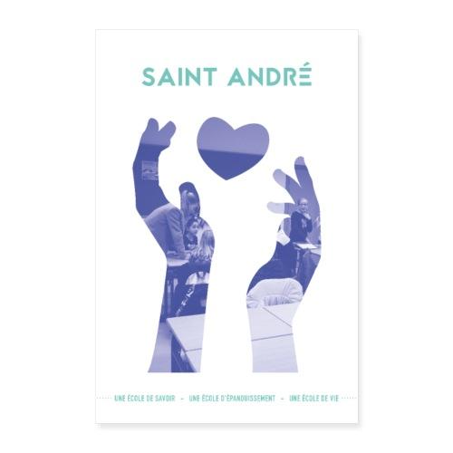 Poster Vie À Saint André 102 - Poster 60 x 90 cm