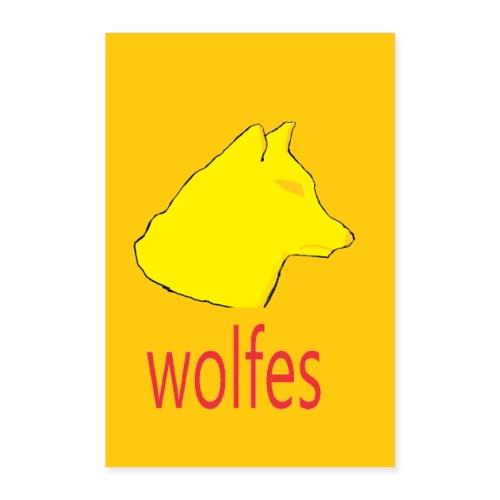 wolfes plakat - Poster 60x90 cm